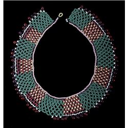 Kiowa Beaded Choker Necklace circa 1890-1900