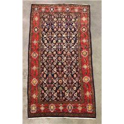 Malayer Persian Certified Fine Hand Woven Rug