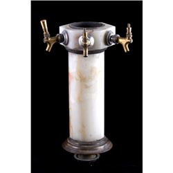 Antique Marble Saloon Beer Tap