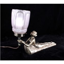 Art Deco Custom Designed Lamp