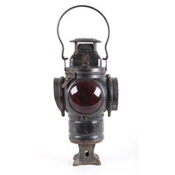 Early Adlake Non- Sweating Railroad Switch Lamp