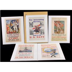 U.S. Navy Recruiting Print Collection