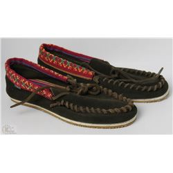 #18-ELEMENT LADIES PRAIRIE BROWN MOCCASINS SHOES