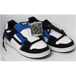 #23-VANS MARAUDER BLACK AND BLUE SHOES