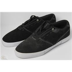 #49-ETNIES JOSE ROJO BLACK SHOES