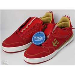 #62-ETNIES AVENTA RED SHOES