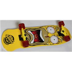 NEW GLOBE HOMER SIMPSON COMPLETE LONG BOARD