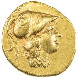 MACEDONIAN KINGDOM: Alexander III, the Great, 336-323 BC, AV stater (8.48g). EF