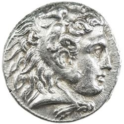 MACEDONIAN KINGDOM: Alexander III, the Great, 336-323 BC, AR tetradrachm (17.09g), Babylon. EF