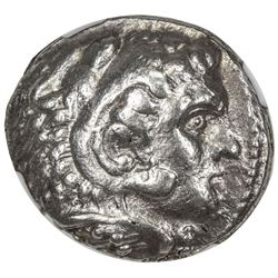 MACEDONIAN KINGDOM: Alexander III, the Great, 336-323 BC, AR tetradrachm. NGC VF