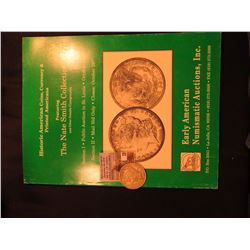 """The Nate Smith Collection"" Auction catalog by Early American Numismatic Auctions & 1922 P U.S. Peac"