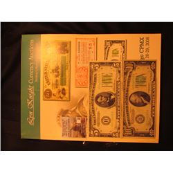 """March 28-29, 2008 Lyn Knight Currency Auctions Catalog""; Series 1934 $5 Federal Reserve Note, St. L"