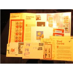 "Group of First Day Covers and Commemorative Plate Blocks. Includes ""Lacemaking"", Marshall Islands, G"