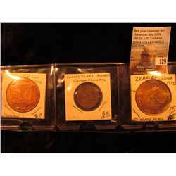CSNA (California State Numismatic Association) Disneyland 1776-1976, Bronze, 39mm, Unc; Looney Tunes