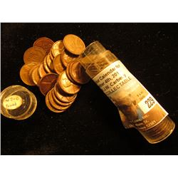 1947 D Original BU Roll of Lincoln Cents. (50 pcs.).