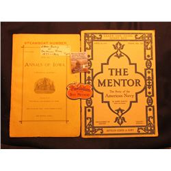 """Learn one Thing Every Day April 16 1917 Serial No. 129 The Mentor The Story of the American Navy"" b"