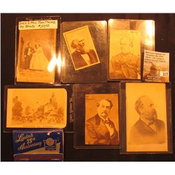 "Book of matches ""Louden's 75th Anniversary 1867 1942 Diamond Jubilee…Fairfield, Iowa""; & a group of"