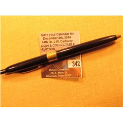 """W.A. Sheaffer Fort Madison, Iowa Made in U.S.A."" Ball Point Ink Pen with a 14K Gold band engraved """