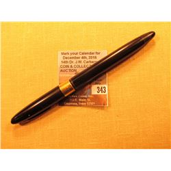 """""""Sheaffer Made in U.S.A."""" Fountain Pen with a Gold Tip & Band engraved """"Robert M. Dowling""""."""