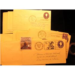 (14) 1952-60 Special Postmarked Covers, First Trips, and etc.