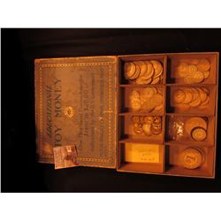 "Large Box containing ""Educational Toy Money One Thousand Pieces, Assorted 1 Cent to $20.00 Authorize"
