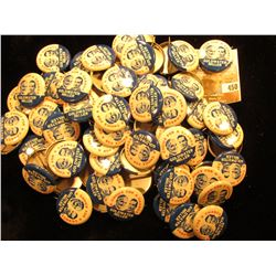 "Large Group of (maybe 50-100) Political Pin-backs, ""A Choice for a Change Goldwater Miller"", most li"