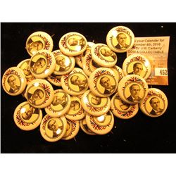 "Group of ""Bryan 1900"" Political Pin-backs, most likely replicas."