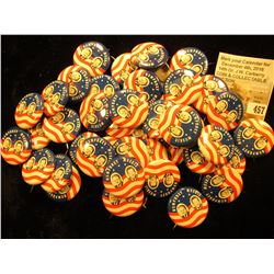 "Group of ""1968 Humphrey Muskie"" Political Pin-backs, most likely replicas."