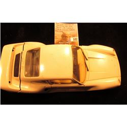 """Burago 1/24 Scale Porsche 959. Made in Italy. Detachable trunk lid."