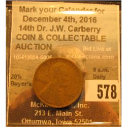 1910 S Lincoln Cent. Good.