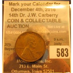 1926 S Lincoln Cent, VG.