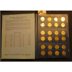 1938-1964 Jefferson Nickel Set, includes all the Silver War Nickels, but is missing a few pieces inc