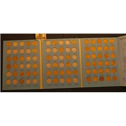 1941-74 Partial Set of Lincoln Cents in a Whitman Coin folder.