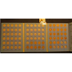 1959-73 Partial Set of Lincoln Cents in a Whitman Coin folder.