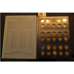 1909-1940 Partial Set of Lincoln Cents in a Deluxe Whitman Album. Lots of decent coins in this colle