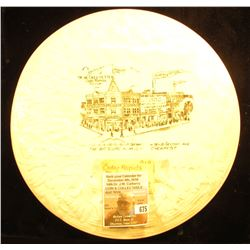 "Extremely Rare Cedar Rapids, Iowa Advertising Plate. Circa 1900. ""Compliments of De Necke & Yetter C"