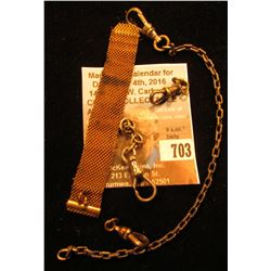 Group of Watch Chain catches.