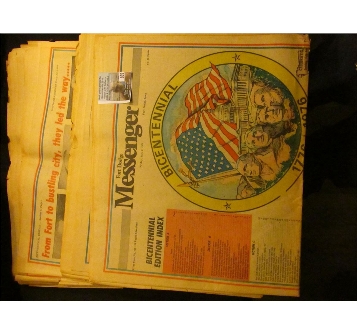 fort dodge messenger friday july 2 1976 bicentennial 1776 1976. Cars Review. Best American Auto & Cars Review