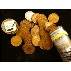 Roll of (50) 1 1/4 Centesimo Panamanian Coins in a plastic tube. Average EF condition.