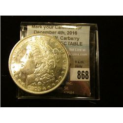 1879 S U.S. Morgan Silver Dollar, Superb Gem BU.