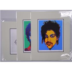 """Andy Warhol - Lot of 3 Limited Edition Giclees. """"Prince"""", """"Michael Jackson"""" and """"Andy's Mickey"""". App"""