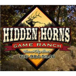 HIDDEN HORNS GAME RANCH - SAND LAKE, MI | Arctic Hogs for 4 Hunters