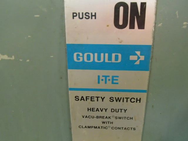 45KVA MGM Transformer With Gould I-T-E Safety Switch