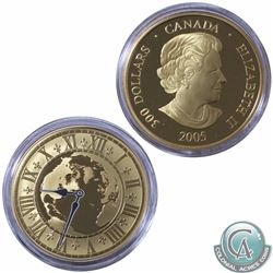 CANADA 2005 $300 14K Proof Gold 'Newfoundland Standard Time '8:30'