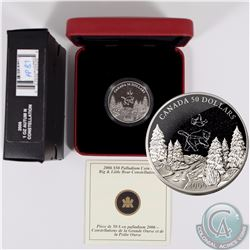 CANADA 2006 Autumn $50 1oz Palladium Big and Little Bear Constellations. Comes with all original Min