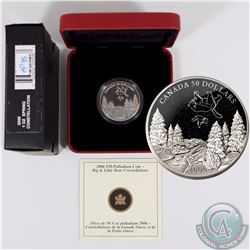 CANADA 2006 Spring $50 1oz Palladium Big and Little Bear Constellations. Comes with all original Min