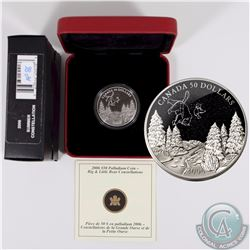 CANADA 2006 Summer $50 1oz Palladium Big and Little Bear Constellations. Comes with all original Min