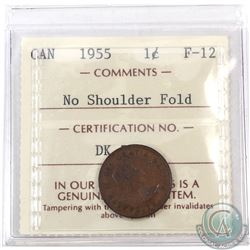 1-cent 1955 NSF ICCS Certified F-12