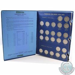 5-cents: Complete 1923-1967 Canada Nickel Collection including the 1926 Far 5-cents, 1937 Dot & 1947