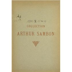 Rare Catalogue of the Sambon Collection